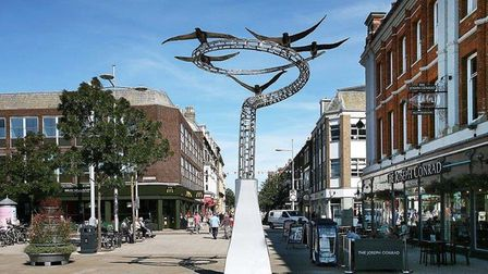 Station Square in Lowestoft. Picture: Archant
