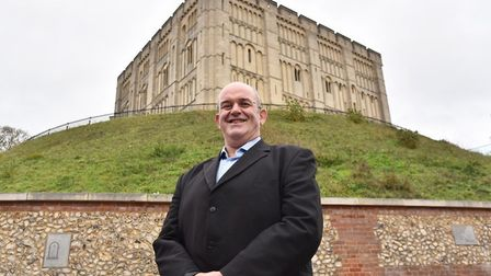 Stefan Gurney, executive director of Norwich BID, is not suprised Norwich ranks well in places most