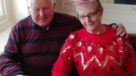 Facing their holiday to Tenerife being cancelled; Chris Humphries, 79 and his wife Valerie, 73. Pic: