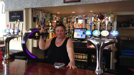 Albion and Great Eastern landlady Kerry, who runs the pubs with her husband Aaron, has given the pla