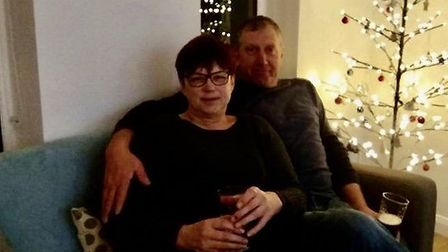 Vicky and Gary Potter. Pic: submitted