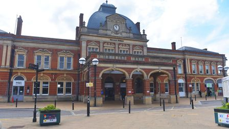 Plans have been approved for clock and display boards inside Norwich Station. Pictures: BRITTANY WOO