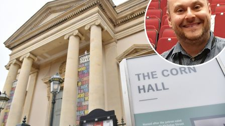 Lee Johnson, operations manager at Diss Corn Hall, has welcomed news of a government support package