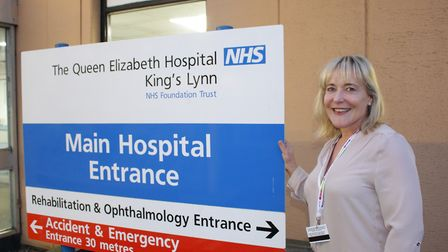 Chief executive Caroline Shaw revealed her wish-list for the Queen Elizabeth Hospial in March Pic