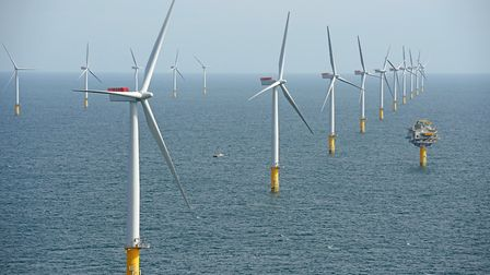 Sheringham Shoal offshore wind farm. Its owner, Equinor, wants to expand it and another wind farm ne