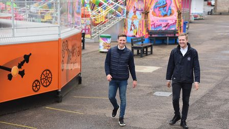 Pleasure Beach directors, brothers Jamie, right, and Aaron Jones, ready to welcome the public back.