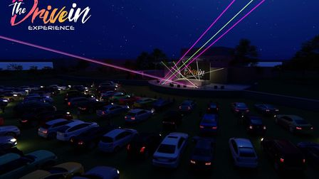 The Drive-in Experience will include live music shows and DJ sets Picture: Supplied