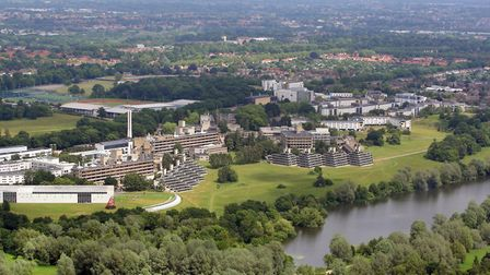The UEA is facing losses of up to £35m next year due to the impact of coronavirus. Picture: Mike Pag