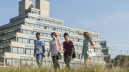 Around 3,000 of the almost 17,000 students at UEA are international students. Picture: Supplied