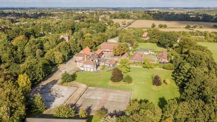Hethersett Old Hall School is set to be transformed into Norfolk police's new training centre. Pictu
