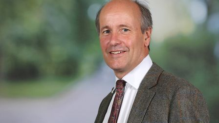 Christopher Miles, from the rural team at Savills Norwich. Picture: Richard Marsham