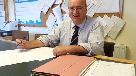 Norfolk farmer Tony Bambridge is the new chairman of the NFUs regional board for East Anglia. Pictur