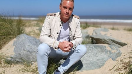 Tim Lindon, 41, whose videos of walks in Great Yarmouth and Cromer have been getting hundreds of tho