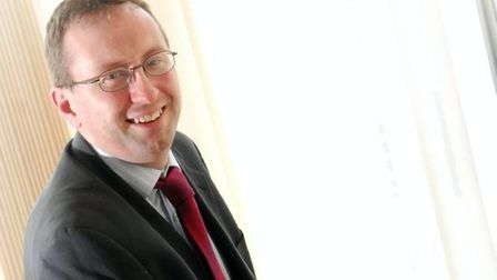 Chris Starkie, chief executive of the New Anglia Local Enterprise Partnership. Pic: Archant
