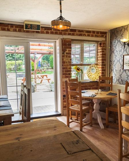 The Fox Steakhouse in Hevingham. Picture: THE FOX