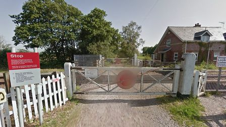 A user-operated crossing at Worlingham near Beccles. Picture: GOOGLE MAPS