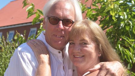 Love at second sight for Annette Whiley and Glyn de Lacy. Pic: Brittany Woodman