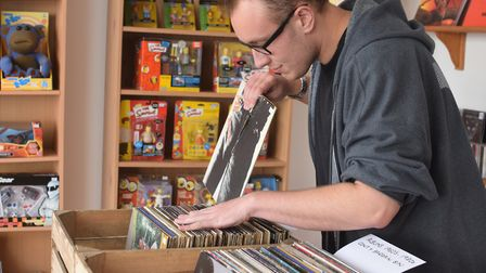 Jan Mulder, owner of Aux Records. Picture: Greta Levy