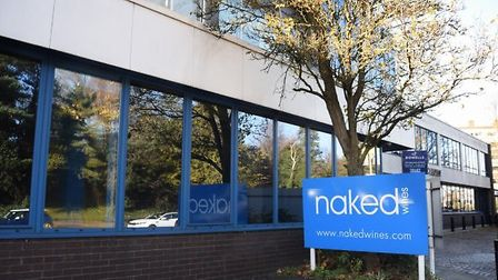 Naked Wines, Norwch, has seen a spike in revenue because of lockdown. Pic: Archant