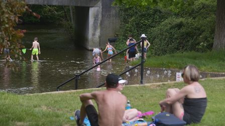 There has been a surge in people spending time in their local park. Pictures: Archant