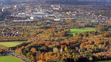 CPRE Norfolk wants 'green wedges' to help protect the character of Norwich. Picture: Mike Page