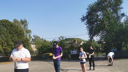 The Swan Youth Project in Downham Market ran a trail social distancing session on Tuesday, June 23.