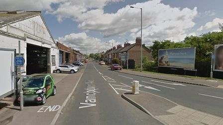 Vanvouver Avenue in King's Lynn, where a 23-year-old man was arrested for drink driving Picture: Go