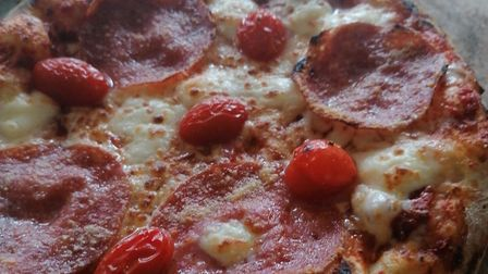 The pizzas are all made using fresh ingredients, with a variety of toppings to choose from, and they