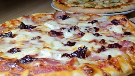Pizza Roma also serves a range of specials such as brie and cranberry Picture: Pizza Roma