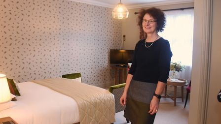 Georgina Postlethwaite, sales manager at the Maids Heads Hotel. Picture: DENISE BRADLEY