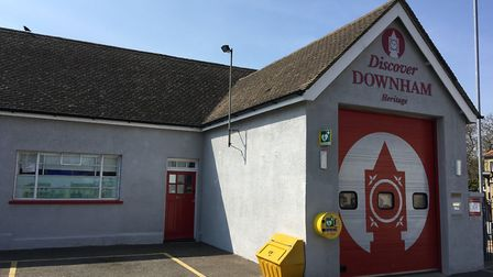 Discover Downham Market is located at the Old Fire Station on Priory Road, Photo: Emily Prince