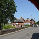 Weird Norfolk: The main street in Horning. The village is said to revert to how it looked 100 years