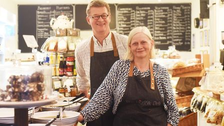 Business has been booming during lockdown at The Norfolk Deli in Hunstanton, run by Mark and Rosie K