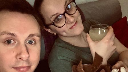 Tom Baxter and Vicky Wackett, from Dereham, were forced to cancel their wedding due to the coronavir