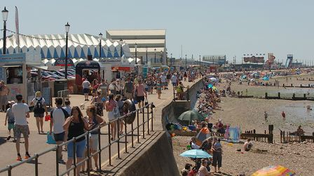 Thousands are expected to flock to Hunstanton as lockdown is relaxed over the weekend Picture: Chri