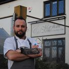 James Mortimer, head chef at the Marsham Arms at Hevingham. He said they had missed their customers