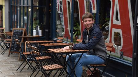 The new normal, how life is now after Covid-19 restrictions have been eased. Tom Chapman enjoys a cu