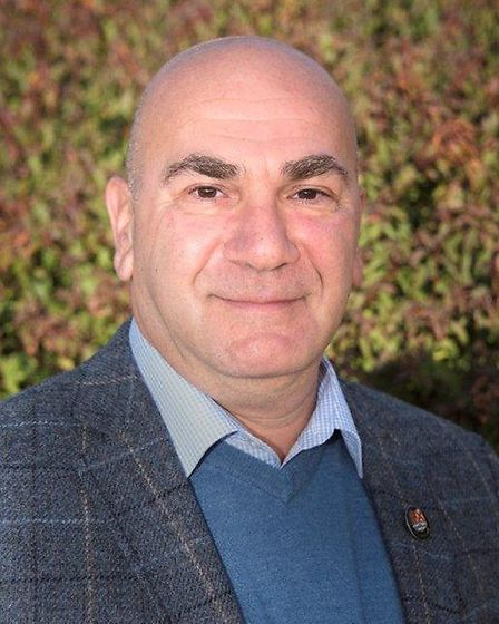 Steve Gallant, leader of East Suffolk Council. Picture: East Suffolk Conservatives