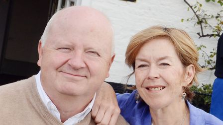 Anthony and Jeanette Goodrich, who own the Rose and Crown pub in Snettisham. Picture: Archant