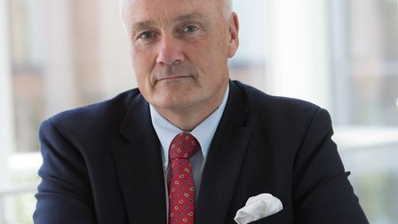 Mark Davies left as chief executive of the Norfolk & Norwich University Hospital last year. Photo: N