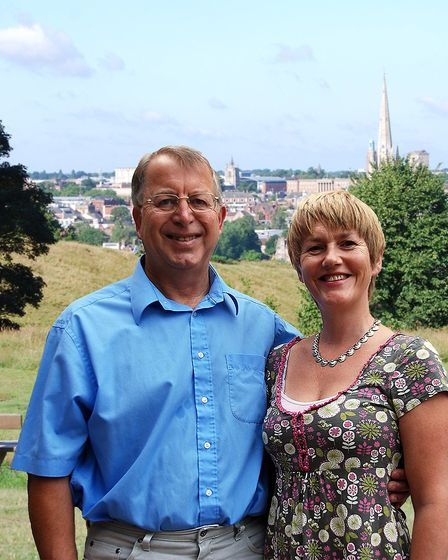 Appealing for your tales of the trams&authors Frances and Michael Holmes.