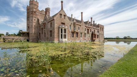 Oxburgh Hall, which is reopening for inside visitors as the lockdown eases. Picture: David Harper