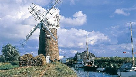 Horsey windpump. Picture: The National Trust Photographic Library