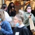 People will have to wear coverings in shops when it becomes compulsory from July 24. Picture: Andrew
