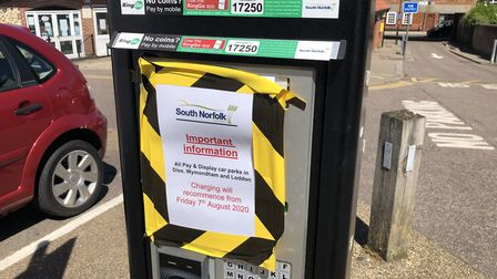 The Market Street car park in Wymondham will no longer be free to use from Friday, August 7. Picture