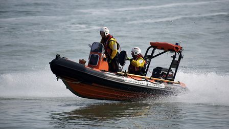 Emergency services, including Mundesley Inshore Lifeboat, have warned people in Norfolk and Waveney