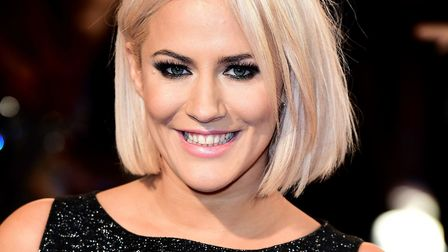 Caroline Flack attending the ITV Gala at the London Palladium. Picture: Ian West/PA Wire
