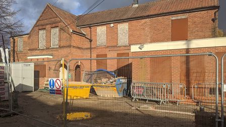 The former cottage hospital on Earls Street. Pic: Archant