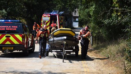 A man's body has been found after a search and rescue operation at Bawsey Country Park, also known a