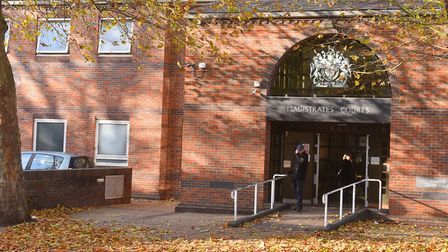 Crinnion appeared at Norwich Magistrates Court. Picture: BRITTANY WOODMAN